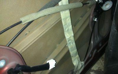 Фото шумоизоляции дверей автомобиля
