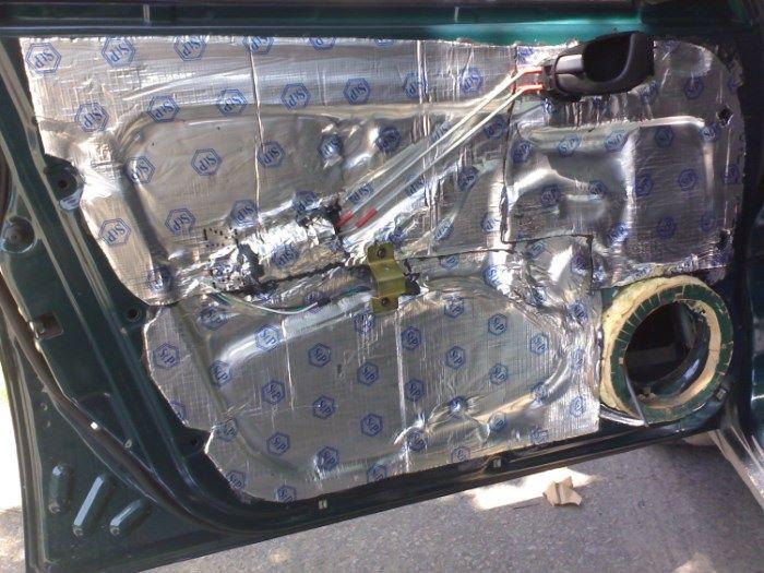 Автомобильная шумоизоляция «в домашних условиях»