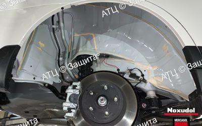 Пример шумоизоляции и антикоррозийной обработки Subaru