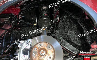 Пример шумоизоляции и антикоррозийной обработки Renault