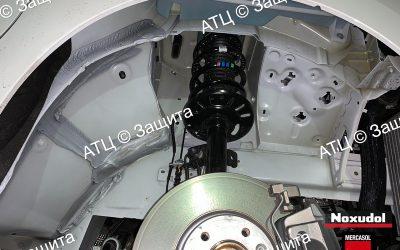Пример шумоизоляции и антикоррозийной обработки Peugeot