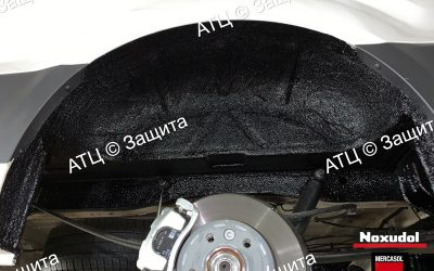 Пример шумоизоляции и антикоррозийной обработки Acura