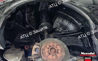Пример шумоизоляции и антикоррозийной обработки Hyundai
