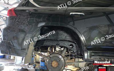 Пример шумоизоляции и антикоррозийной обработки Lexus