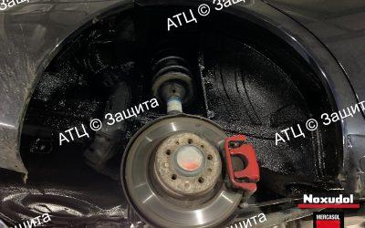 Пример шумоизоляции и антикоррозийной обработки BYD
