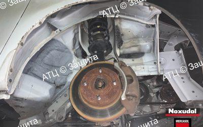 Пример шумоизоляции и антикоррозийной обработки Honda
