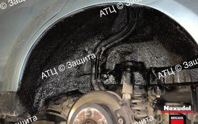 Пример шумоизоляции и антикоррозийной обработки Suzuki