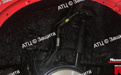Пример шумоизоляции и антикоррозийной обработки Geely
